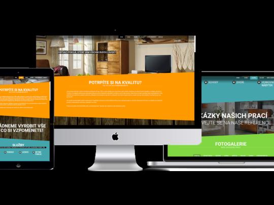 profesionální weby na míru, HM design, Brno Vsetín, zlín