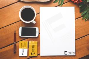 Prezentace vizitek a loga - hmdesign design na míru eastend limited