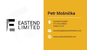 Vizitka eastend limited - navrh hmdesign